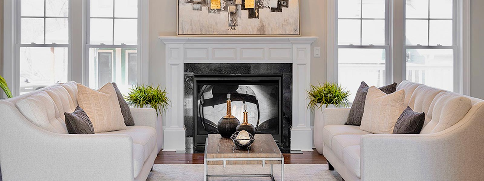 Luxury Home Staging in Great Falls VA - Leslie Anderson interiors
